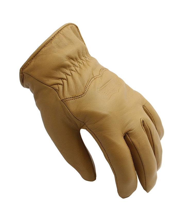 Upsidedown Χειμερινά δερμάτινα γάντια μηχανής AGVPro Rast Camel 248e41bcc28