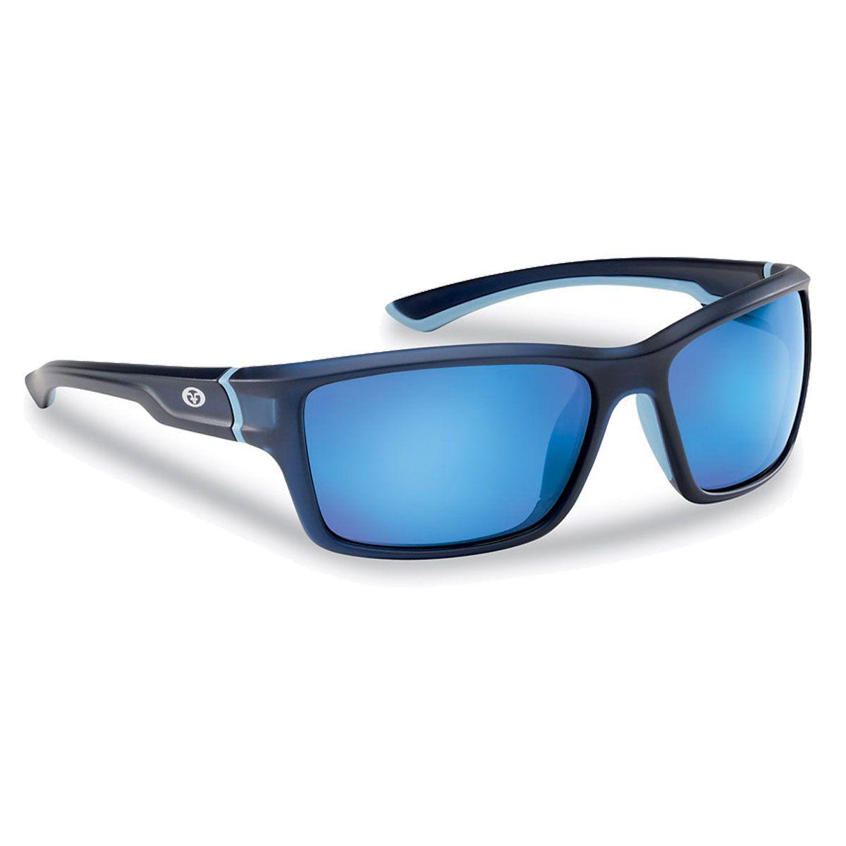 Upsidedown Γυαλιά ηλίου μηχανής Flying Fisherman COVE Navy Blue Mirror  Polarized 959c2449441