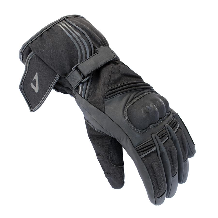 Upsidedown Χειμερινά γάντια AGVpro VEGA Μακριά Μαύρο 13f69c4232b
