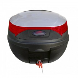 Βαλίτσα μηχανής 32λίτρων Top Box γκρι/κόκκινη