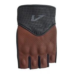 Γάντια δερμάτινα με κομμένα δάκτυλα AGVPro Rodeo