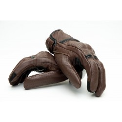 Δερμάτινα διάτρητα γάντια AGVpro Palermo καφέ