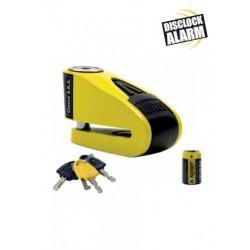 Κλειδαριά δίσκου με συναγερμό AUVRAY B lock 10, μαύρο/κίτρινο