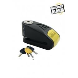 Κλειδαριά δίσκου με συναγερμό AUVRAY B lock 14, μαύρο/κίτρινο