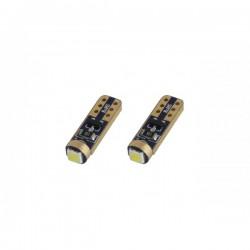 Λαμπάκι T5 Standard 12V - 0,5W - 5600K - 1 LED, λευκό