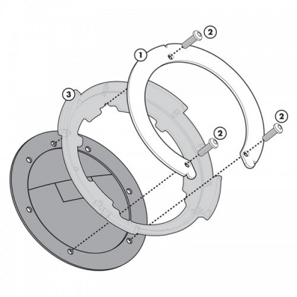 Δακτύλιος GIVI Tanklock BF05/Yamaha