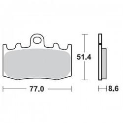 Τακάκια Braking 892SM1 (FA335, PH299), BMW R 1100/1150/1200 GS