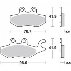 Τακάκια Braking 953SM1 (FA418), Beverly 300 (R), MP3 250 (R)