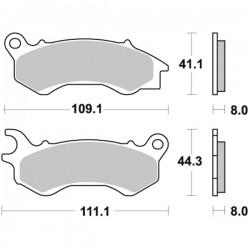 Τακάκια Braking 954SM1 (FA603), PCX 125/150 (F), VISION 50/110 (F)