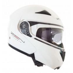 Κράνος flip-up ZEN 301, λευκό