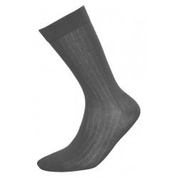 Κλασικές ανδρικές κάλτσες, σκούρο γκρι
