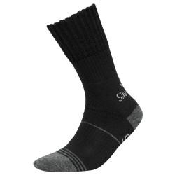 Κάλτσες Trekking silverwool μαύρο