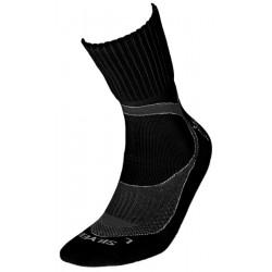 Κάλτσες Trekking silver, μαύρο