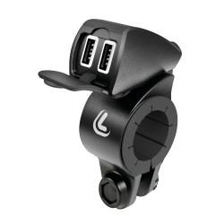 Διπλή αδιάβροχη πρίζα USB - Fix Trek Lampa