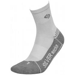 Λεπτές αθλητικές κάλτσες Athletic silver deodorant