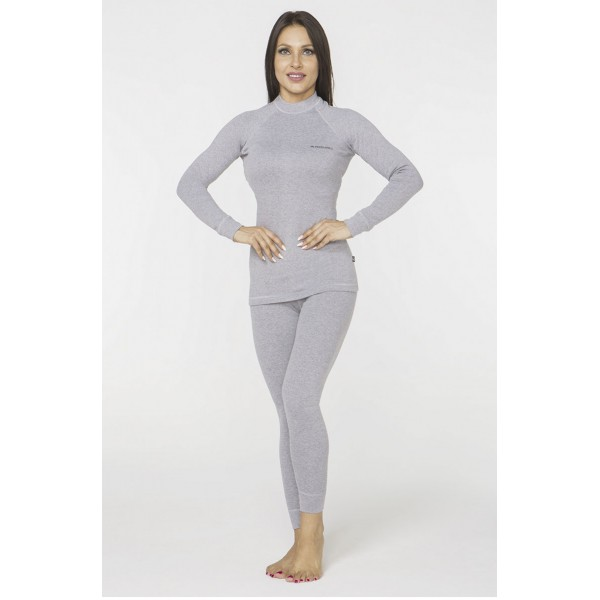 Γυναικείο Ισοθερμικό σετ παντελόνι και μπλούζα Radical Cute, γκρι