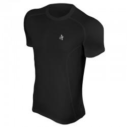Ισοθερμική κοντομάνικη μπλούζα Radical Fury, μαύρη