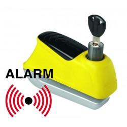 Κλειδαριά δίσκου με συναγερμό ABUS Trigger Alarm 345, κίτρινη