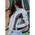 Γυναικείο μπουφάν μηχανής 4 εποχών AGVPro Elite Grey-Titanium