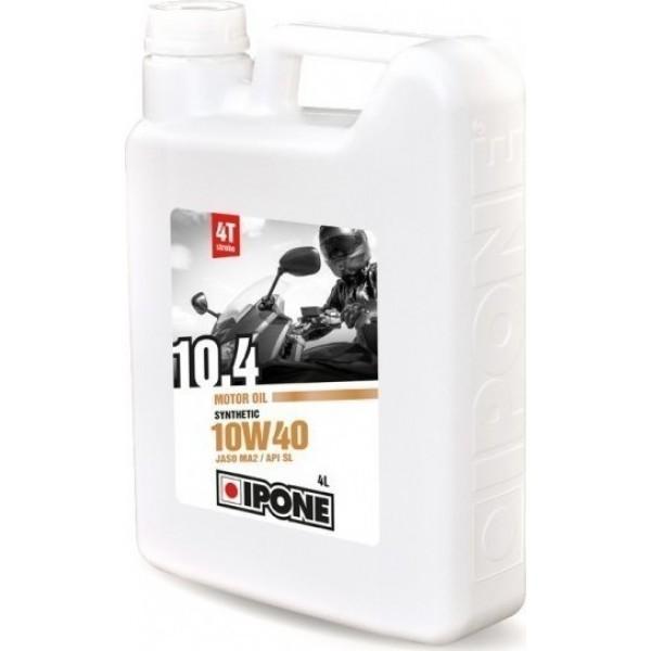Ipone λάδι μηχανής Ημι συνθετικό 10.4 10w-40 4lt