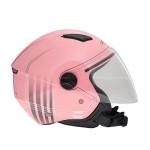 Κράνος jet ZEN ZN-700, ροζ/γκρι ματ