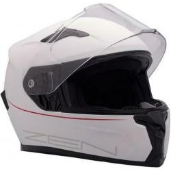 Full face κράνος ZEN ZN-820, λευκό/κόκκινο