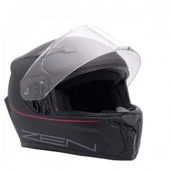 Full face κράνος ZEN ZN-820, μαύρο/κόκκινο
