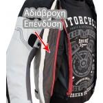 Καλοκαιρινό μπουφάν μηχανής AGV-Pro Zeuss grey/red